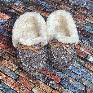 INC International Concepts Glitter Slippers